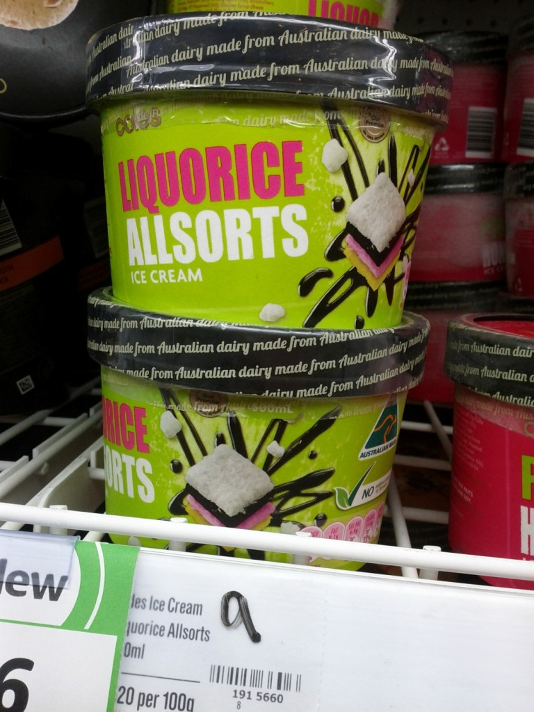 Coles 500mL Liquorice Allsorts