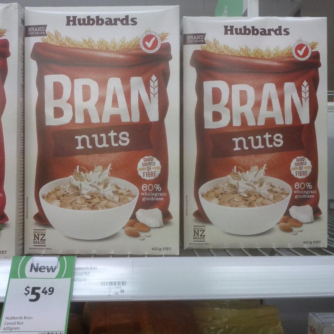 Hubbards 420g Bran Nuts