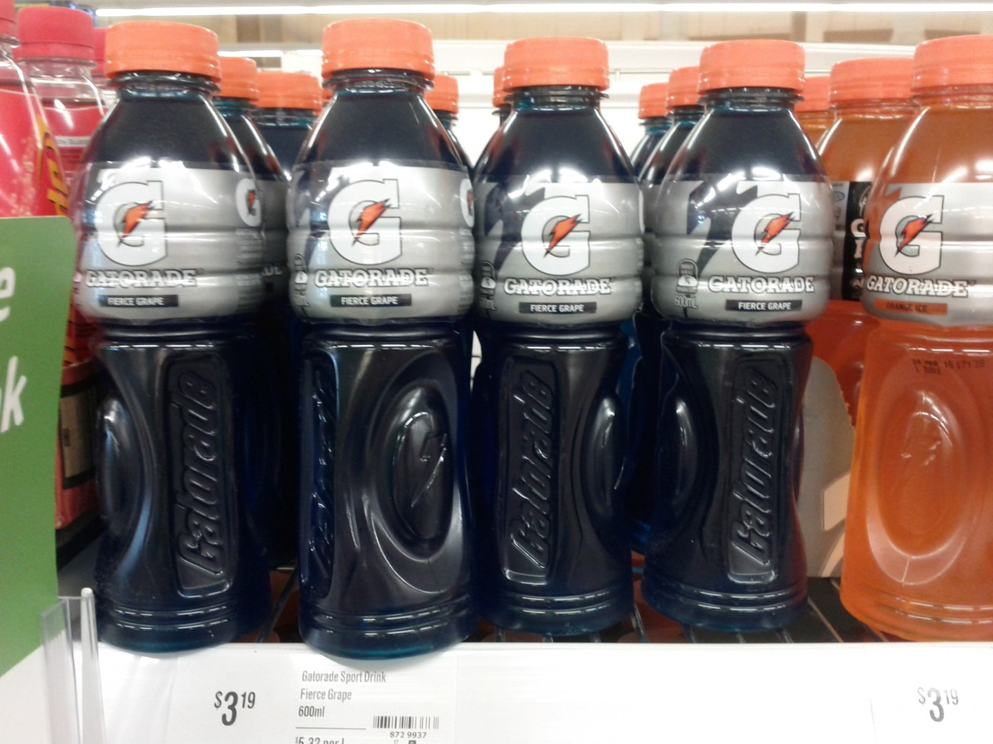 Gatorade 600mL Fierce Grape