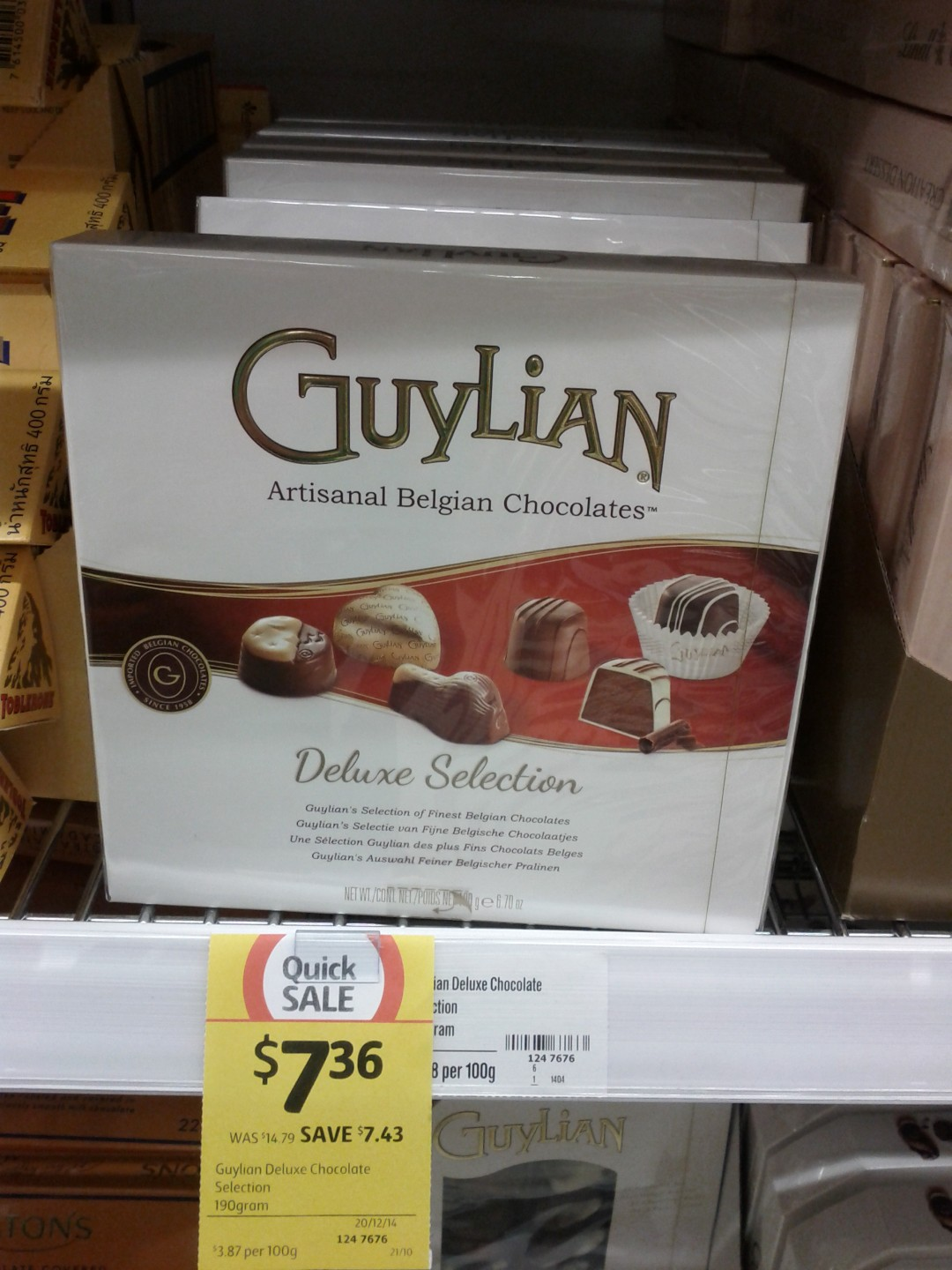 Guylian 190g Deluxe Selection