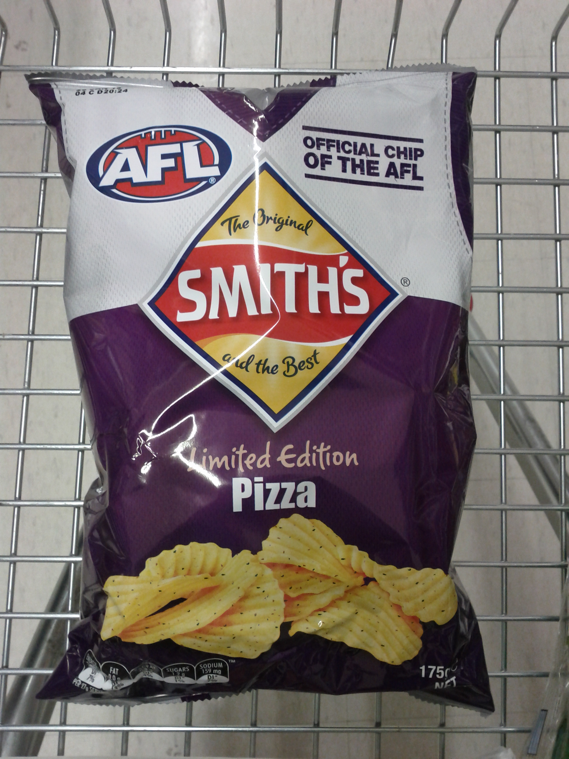 Smith's 175g Limited Edition Pizza