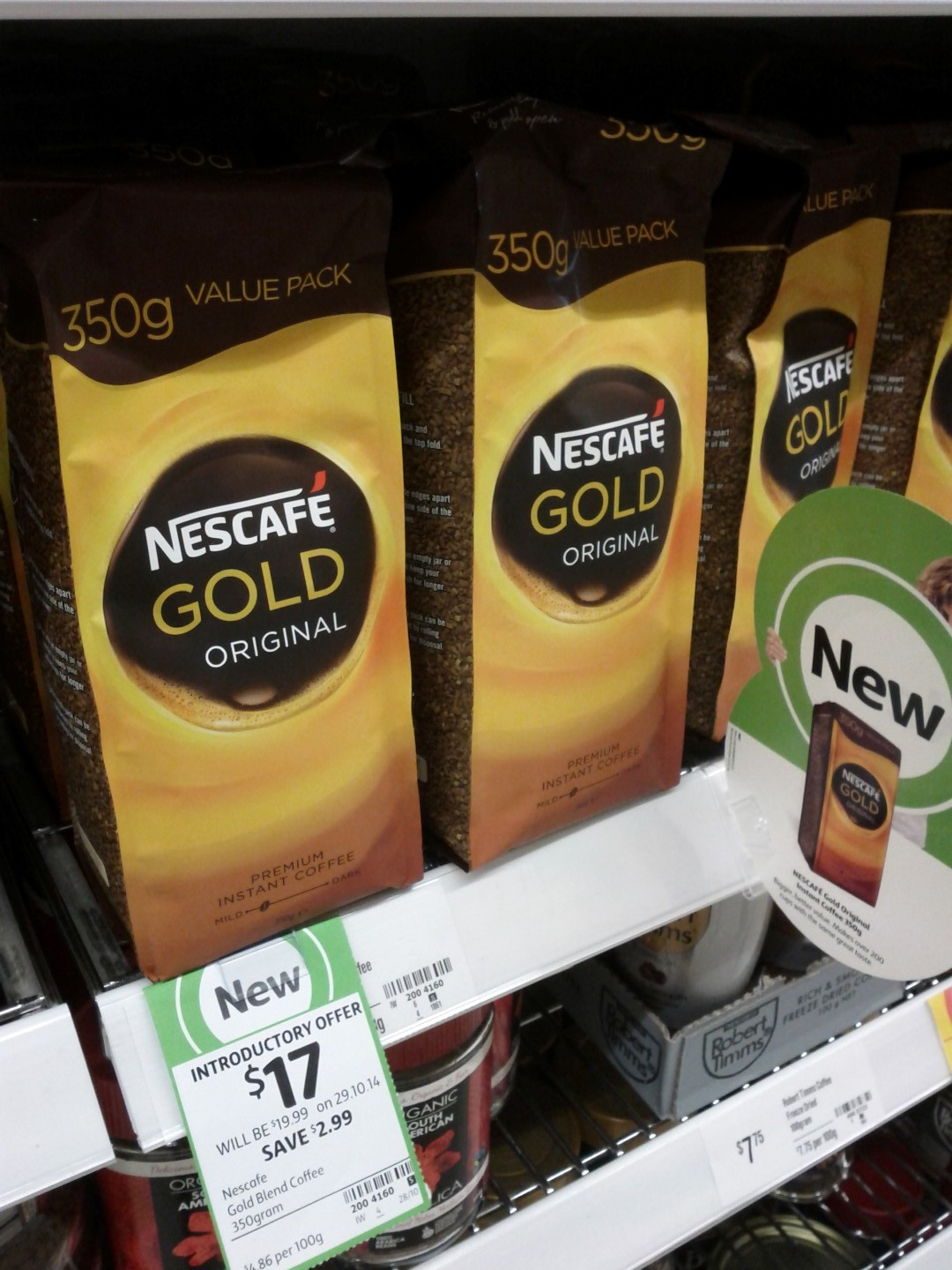 Nescafe 350g Gold Blend Coffee