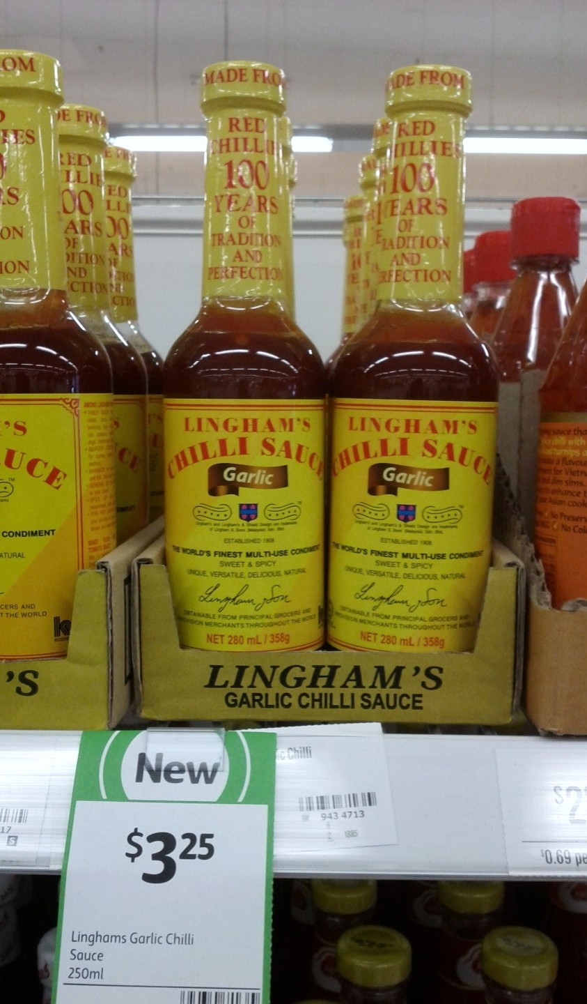 Linghams 250mL Garlic Chilli
