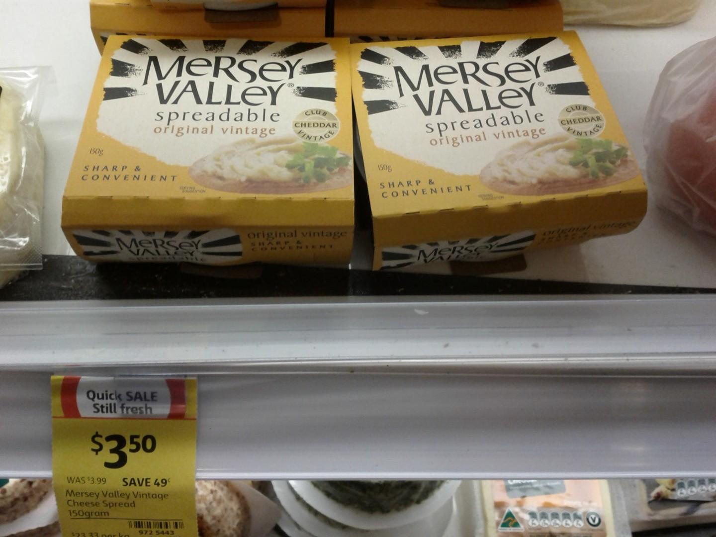 Mersey Valley 150g Spreadable Original Vintage