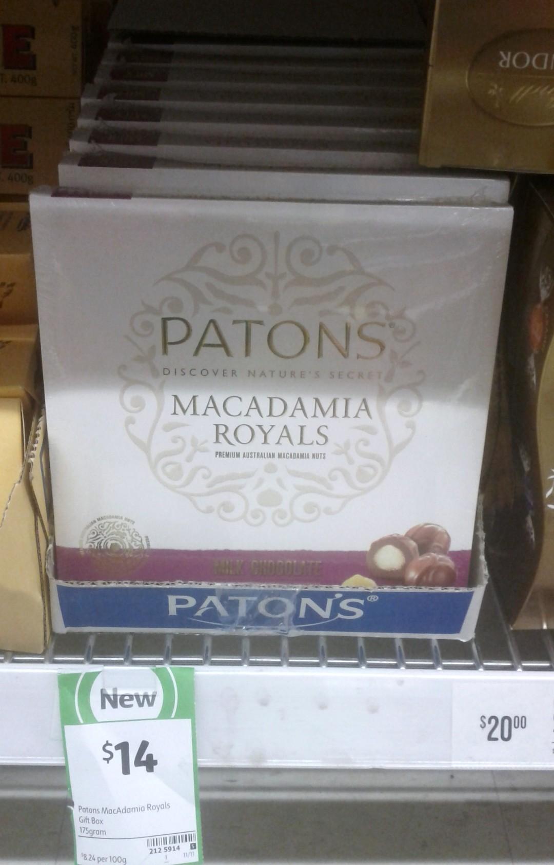 Patons 175g Macadamia Royals
