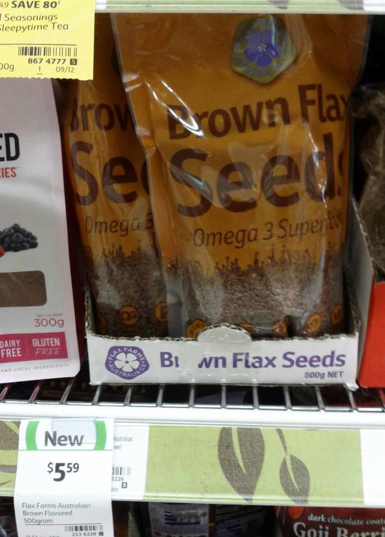 Flax Farms Australia 500g Brown Flaxseed