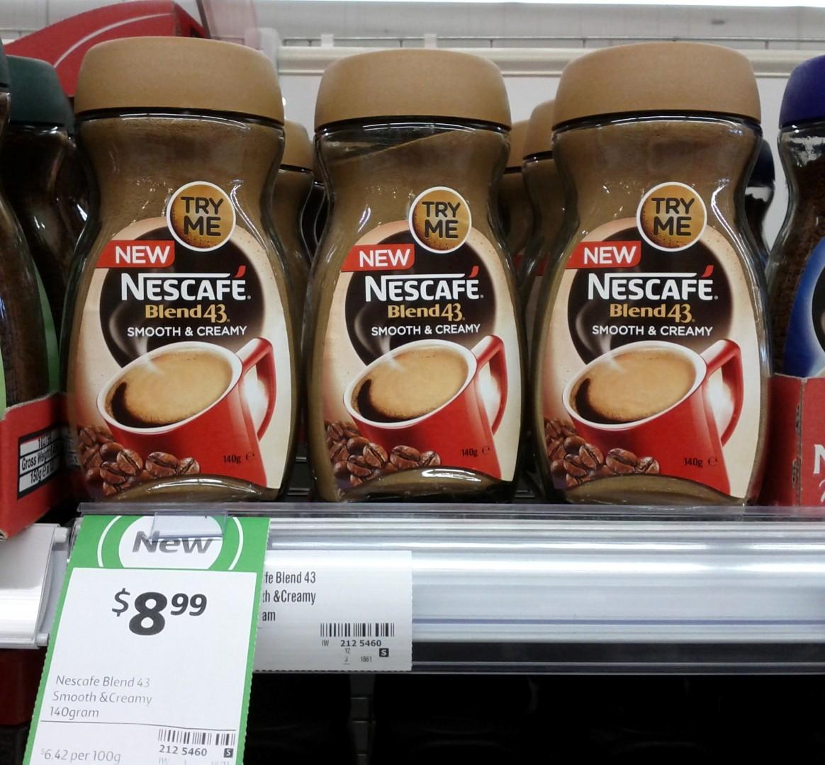 Nescafe 140g Blend 43