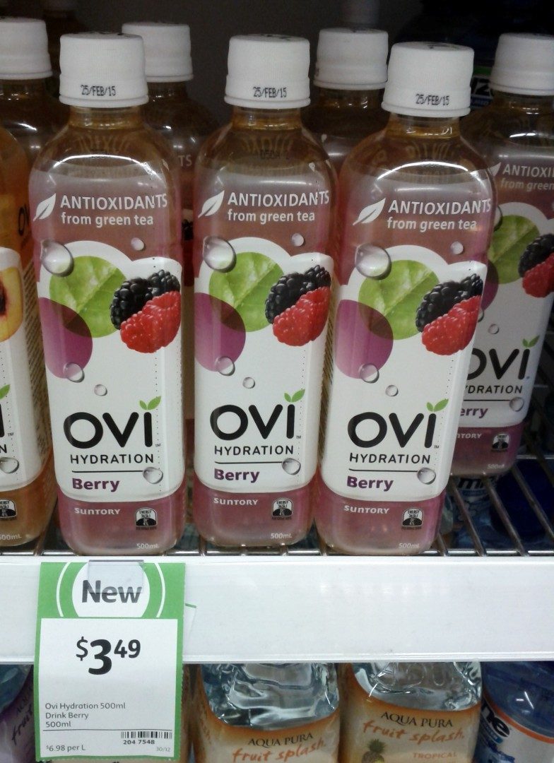 Ovi Hydration 500mL Berry