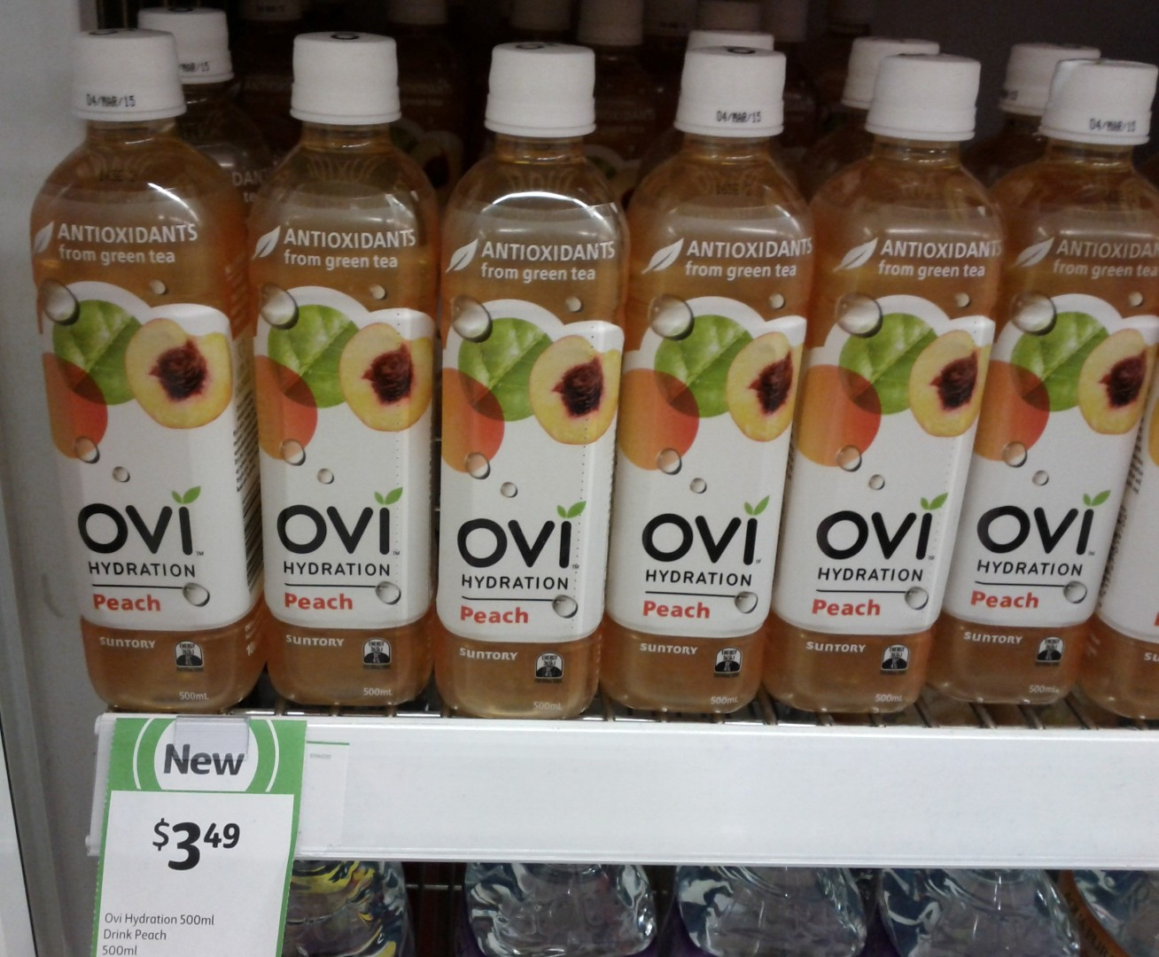 Ovi Hydration 500mL Peach