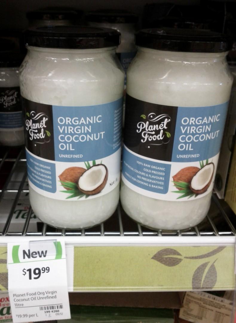 Planet Food 1L Coconut Oil