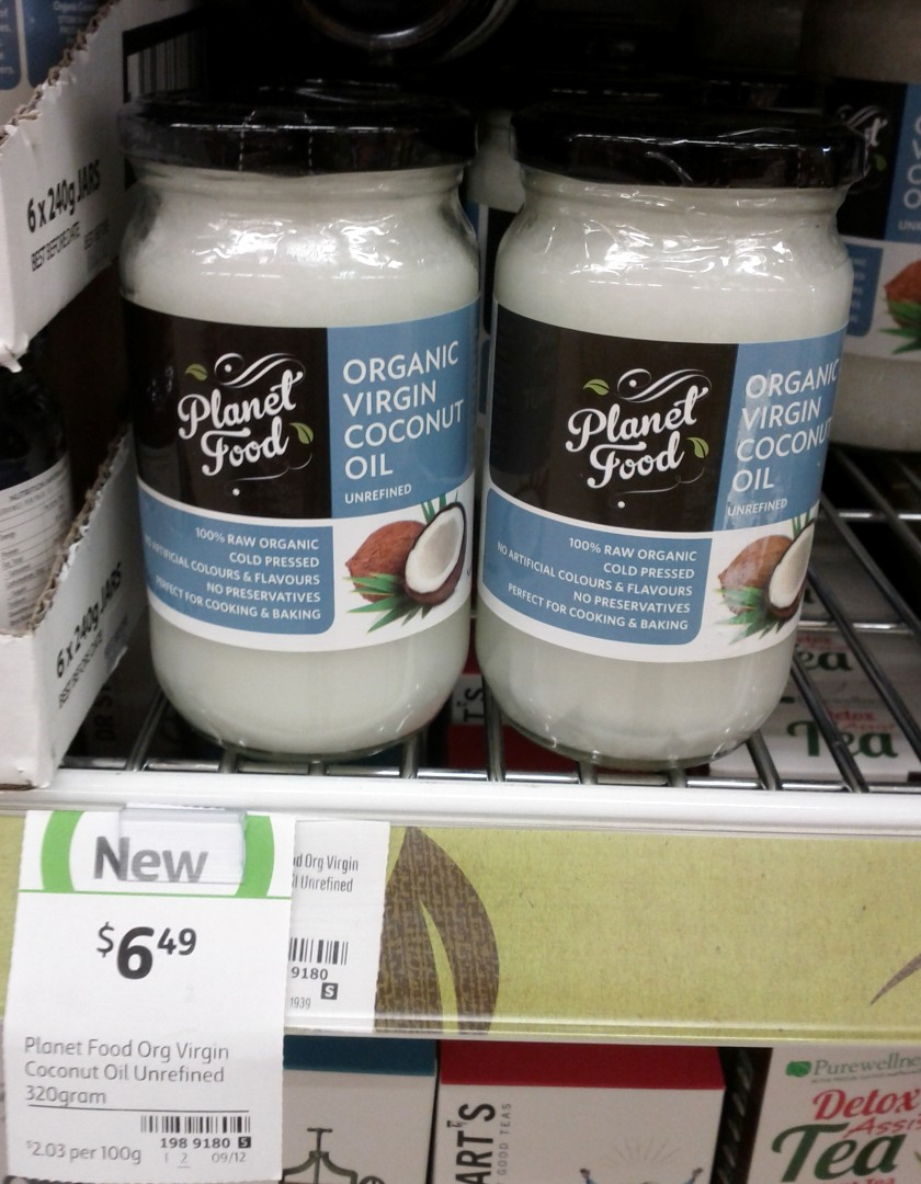 Planet Food 320g Coconut Oil