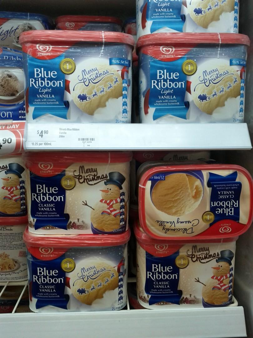 Streets 2L Blue Ribbon Vanilla & Vanilla Light