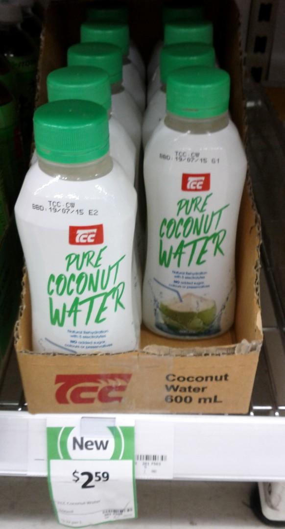 TCC 500mL Coconut Water