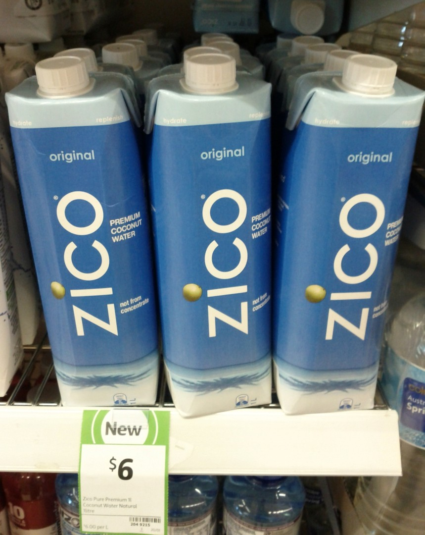 Zico 1L Coconut Water