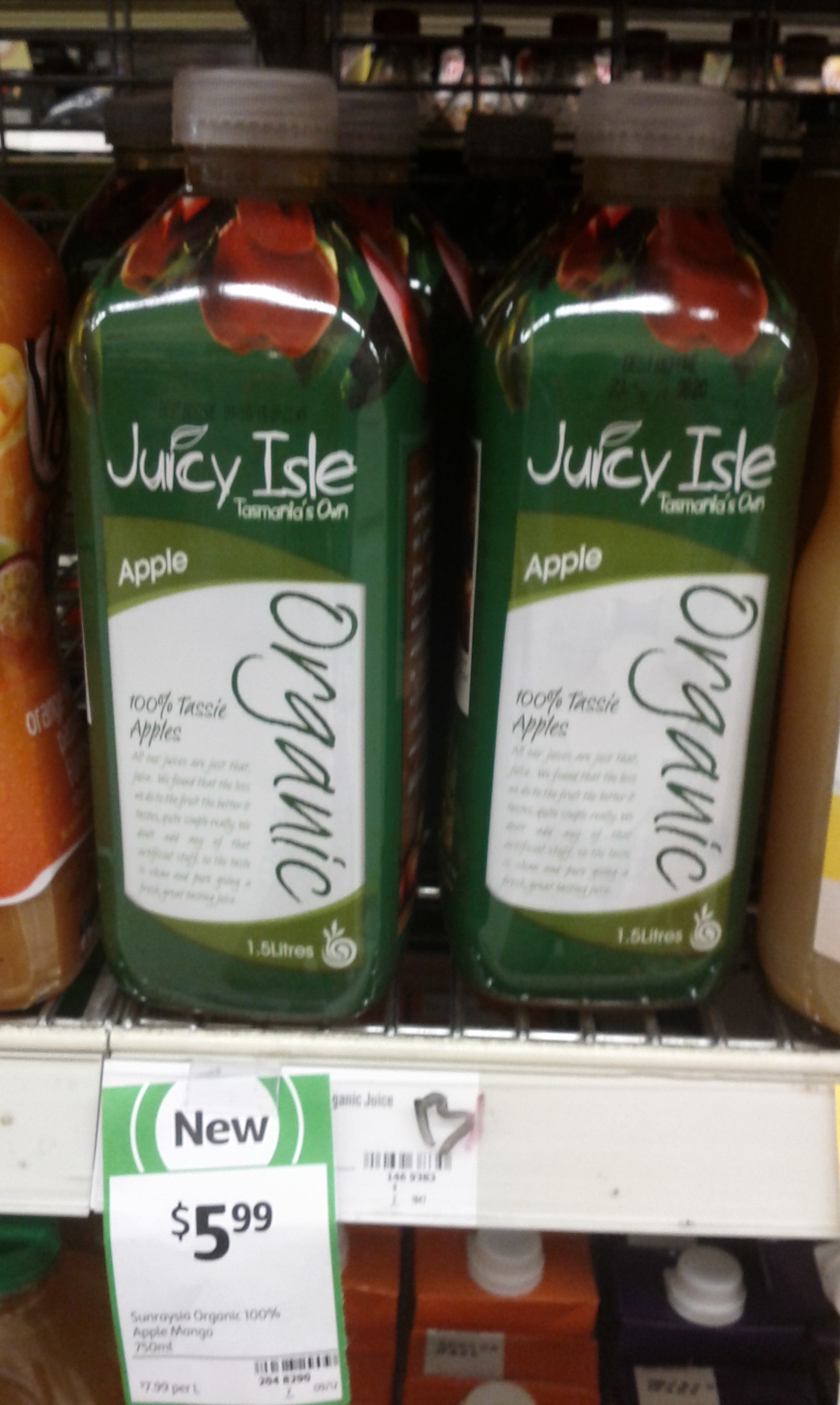 Juicy Isle 1.5L Apple
