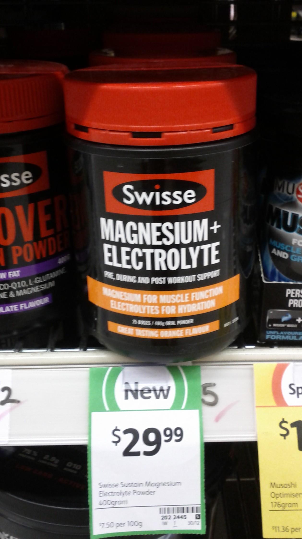 Swisse 400g Magnesium Electrolyte