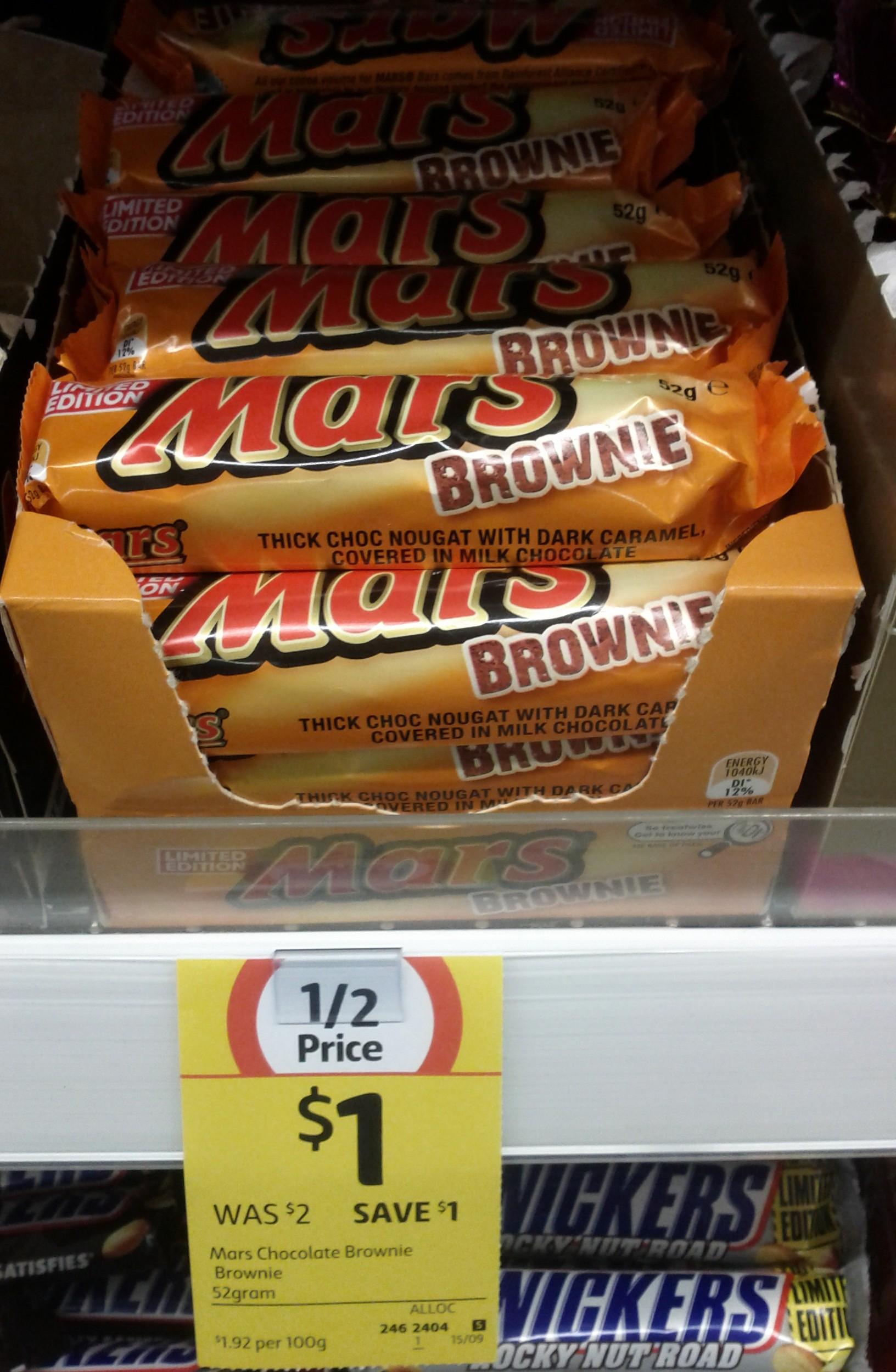 Mars 52g Brownie
