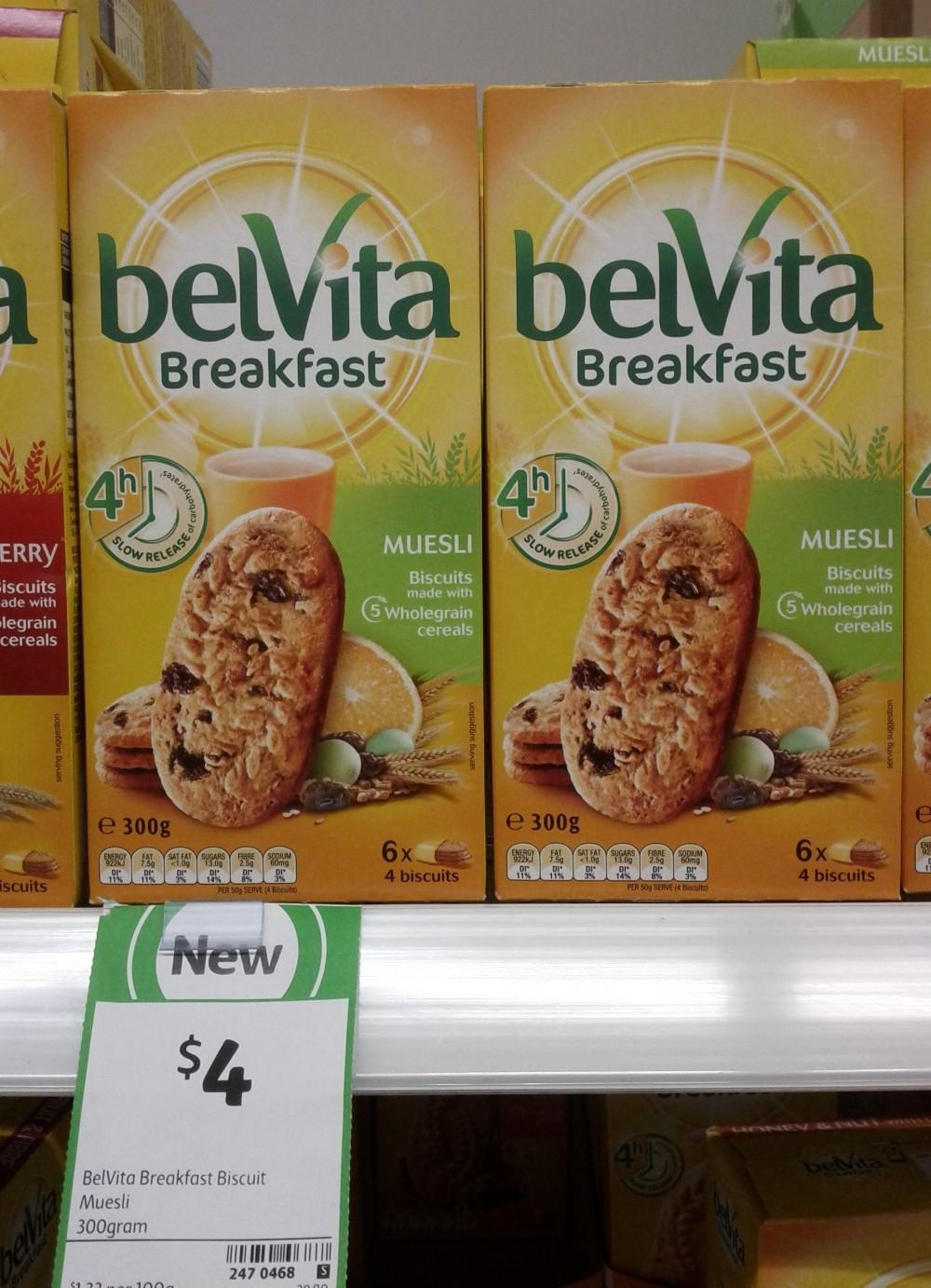 BelVita Breakfast 300g Biscuit Muesli