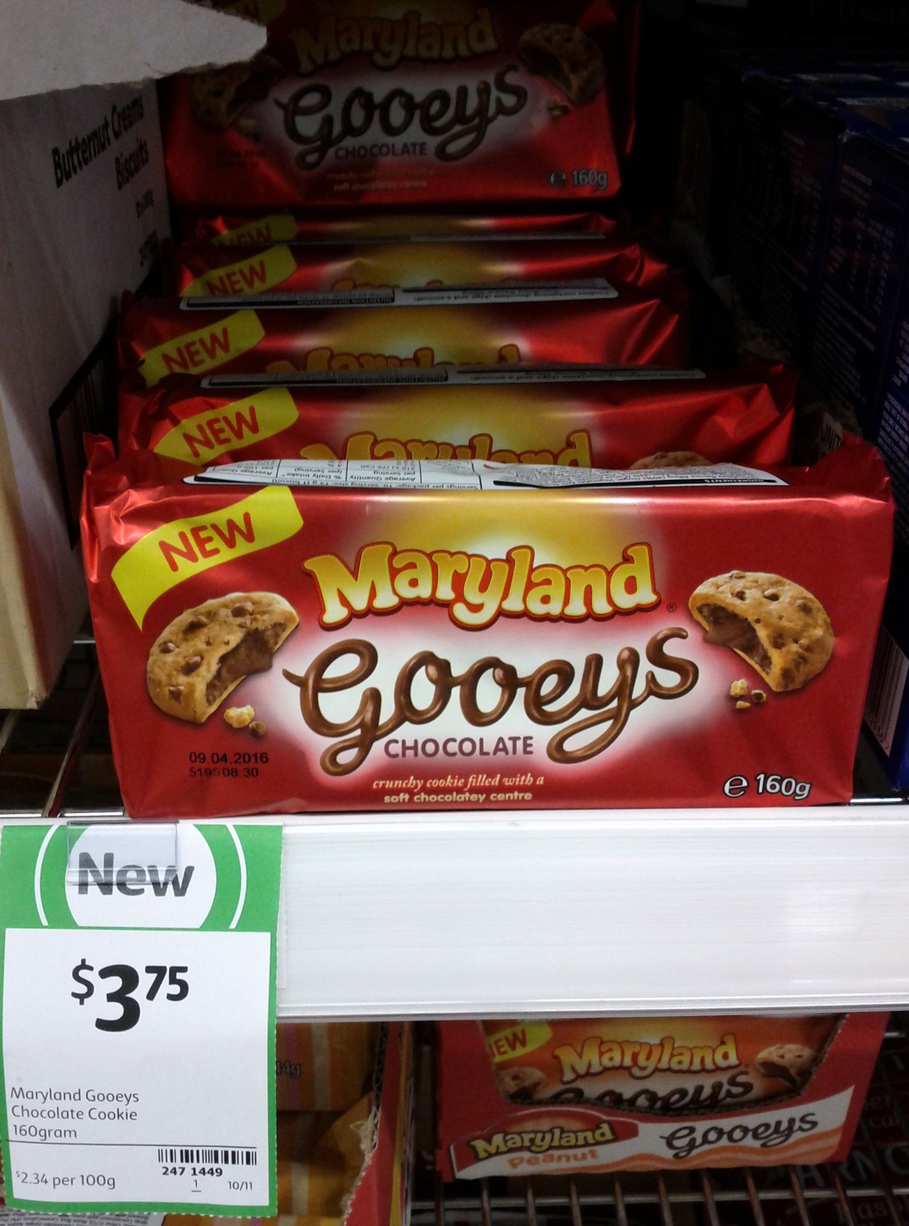 Maryland Gooeys 160g Chocolate