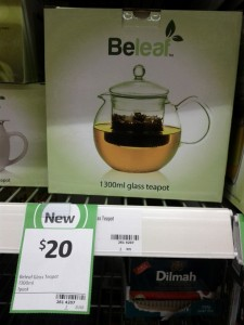 Beleaf 1300mL Glass Teapot