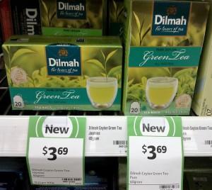 Dimah 40g Green Tea Jasmine, Green Tea Pure