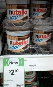 Ferrero 48g Nutella and Go