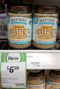 Mayver's 280g Super Spread Coconut