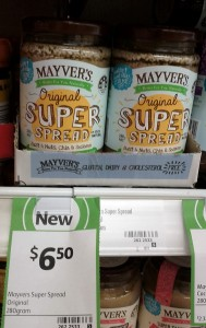 Mayver's 280g Super Spread Original