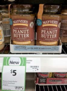 Mayver's 375g Peanut Butter Smooth Dark Roast