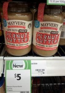 Mayver's Peanut Butter Crunchy