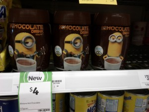 Minions 525g Hot Chocolate