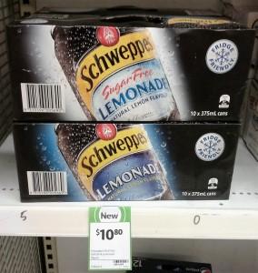 Schweppes 10pk Lemonade