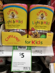 Capilano Honey 340g For Kids Light & Mild