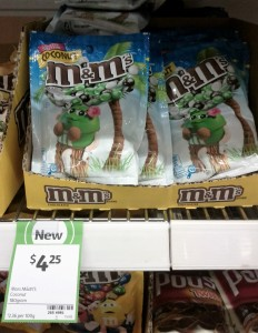 Mars 180g M&M's Coconut