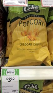 Cobs 100g Popcorn Cheddar Cheese