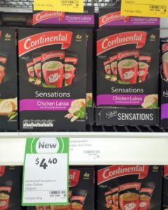 Continental 100g Cup a Soup Sensations Chicken Laksa