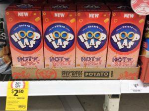 Hoop Las 125g Hot n Spicy