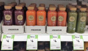 Juice Lab 400mL Unbeetable, Carrot Top, Ranga, Green Keeper