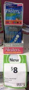 Piksters 10pk Interdental Brush Size 0