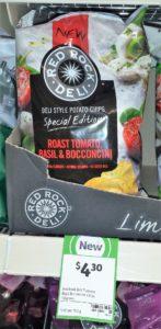 Red Rock Deli 165g Roasted Tomato, Basil & Bocconcini