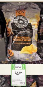 Red Rock Deli 165g Vintage Cheddar & Wholegrain Mustard