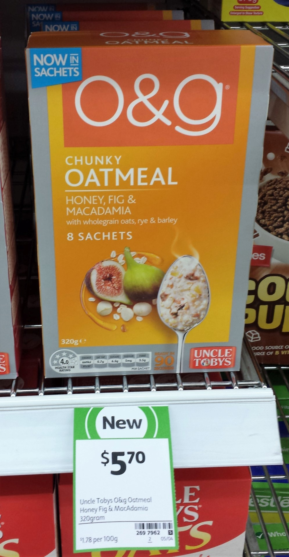 Oatmeal With Honeyed Figs Recipe — Dishmaps