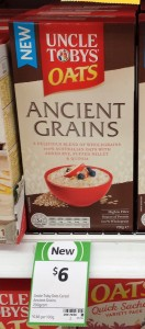 Uncle Tobys 700g Oats Ancient Grains