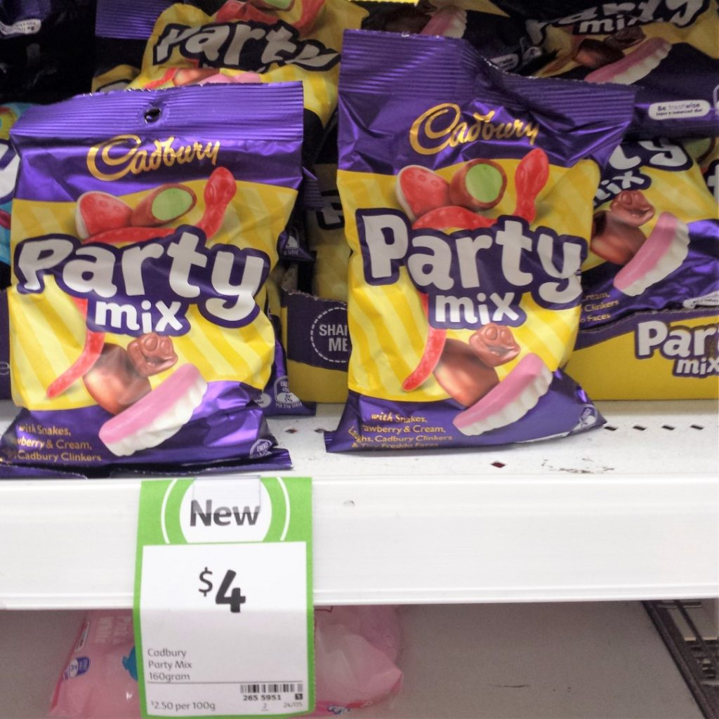 Cadbury 160g Party Mix