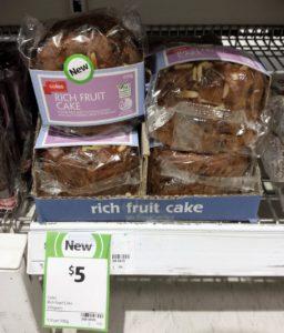 Coles Cake 450g Rich Fruit Cake