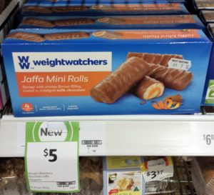 Weight Watchers 105g Jaffa Mini Rolls