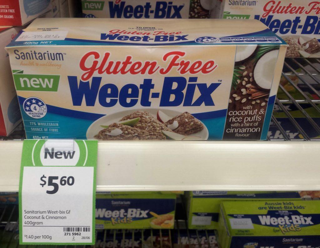 Sanitarium 400g Weet-Bix Gluten Free