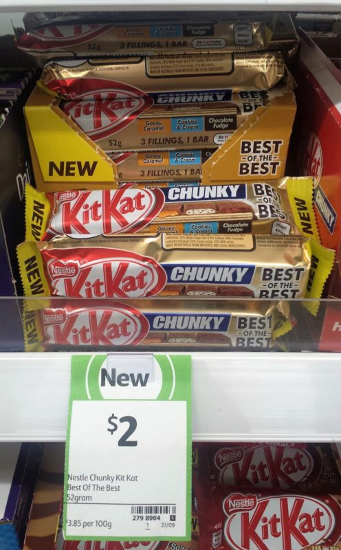 Nestle Kit Kat 52g Chunky Best Of The Best