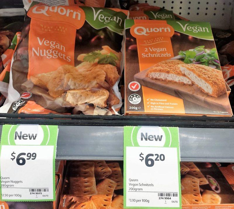 Quorn Vegan 280g Nuggets 200g Schnitzels