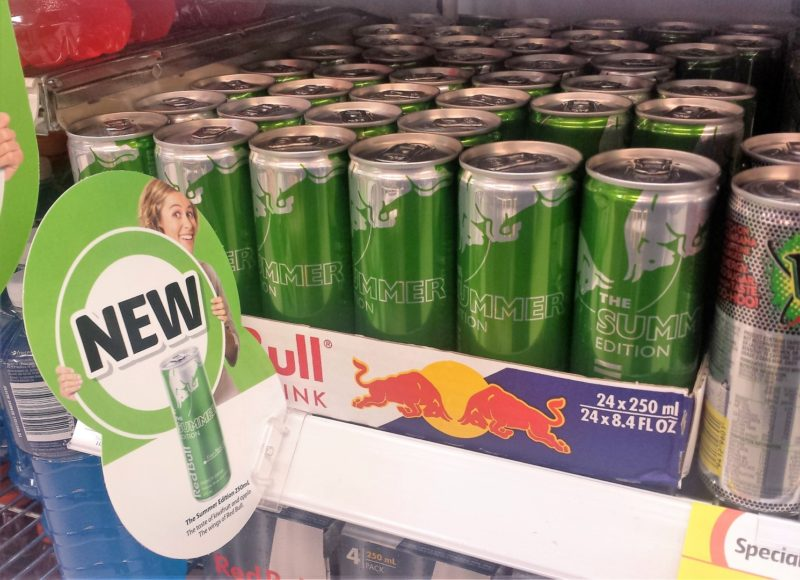 Red Bull 250mL Summer Edition Kiwifruit And Apple